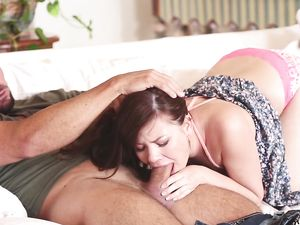Shaved Cunt Fucking Satisfies The Cute Girl