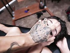 Bound Teen Pounded From Behind By Big Master Cock
