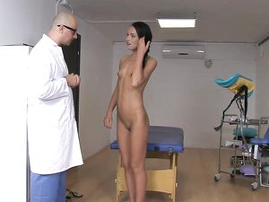 Dirty Doctor Butt Fucks His Sexy Teenage Patient