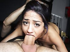 Great Body Babe Fucking Hardcore And Taking A Creampie