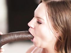 Creampie From A Big Black Cock For The Curvy Cutie