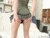 Big Cock Inside The Teen Cutie In A Teasing Miniskirt