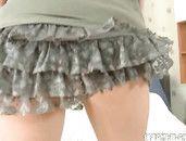 Big Cock Inside The Teen Cutie In A Teasing Miniskirt