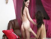 Girlfriends Strip Each Other Naked And Get Naughty