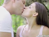 Beautiful Sex In The Grass With A Teenage Girl