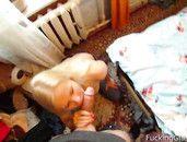 Amateur Blonde Sucks His Big Dick In Sexy POV