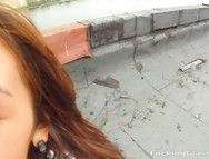 Girl Convinced To Give Him Head And Fuck Outdoors