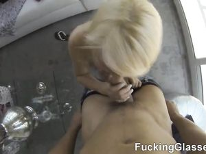 Big Curvy Ass Girl Gets On Top And Rides His Dick
