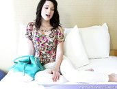 Pretty Girl Makes Her First Porn And Loves It