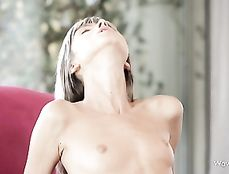 Girl On Top Sex With The Skinny Girl Riding Passionately