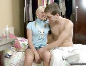Blonde Pigtails On The Teen Babe He Bangs Hardcore