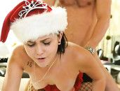 Beauty Gives The Gift Of Slutty Sex For Christmas