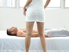 Taking The Anal Babe From Behind And Cumming Hard