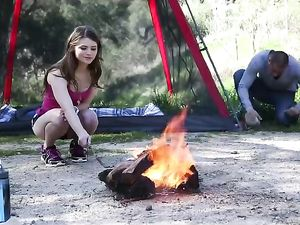 Going Camping With A Cute Teen That Loves To Fuck
