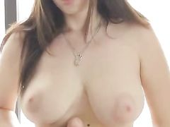 Curvaceous Solo Euro Girl Has Breathtaking Big Tits