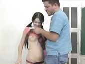 Teen Schoolgirl Pussy Is The Best Kind For Him