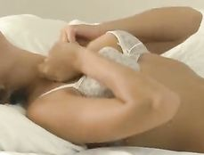Young Solo Beauty Masturbates Her Perfect Wet Pussy