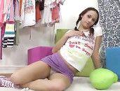 Miniskirt Sex Makes Her Teenage Pussy All Wet