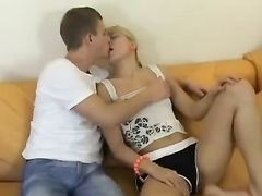 Eager Blonde Opens Her Legs For Hot Hardcore Sex