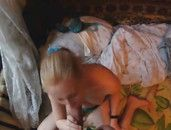 Blonde Warms Up In Winter With Hardcore Sex