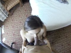 Young Escort He Orders Is Down To Fuck Hardcore