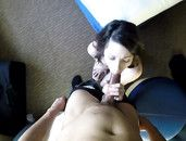 Sexy Satin Dress On This Hot POV Hardcore Slut