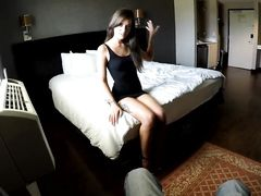 Fucking A Skinny Young Hooker In His Hotel