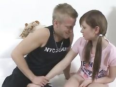 Teenage Pussy Is Tight And Warm For His Big Cock