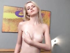 Seductive Striptease From A Pretty 18 Year Old Girl
