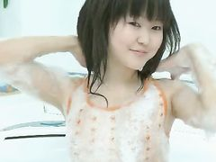 Tiny Tits Asian Teenager Plays In The Bathtub