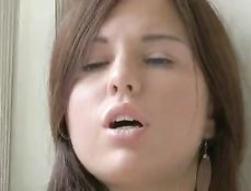 Soft And Sexy Solo Girl In Love With Her Dildo