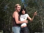 Deep In The Woods For Teen Hardcore Sex