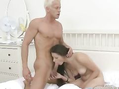 Leggy Teenager Filled With Dick In Doggystyle