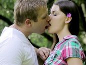 Outdoor Lovemaking With His Sexy Teenage Girlfriend