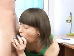 Cock And Ball Loving Teenager Gets Laid