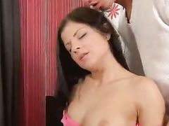 Perfect Teen Sex With A Cute Euro Brunette