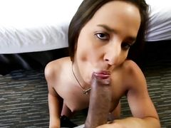 Girl On Top POV Sex With A Curvy Ass Teenager