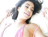 Latina Bikini Babe Can Take All Nine Inches Inside Her
