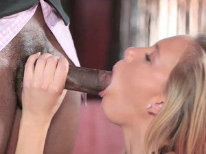 First Huge Cock Makes This White Girl Cream
