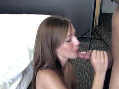 Miniskirt And Perfect Tits Make Molly Manson Fuckable