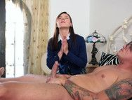 Ruining A Religious Teen By Fucking Her Ass