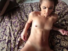 Tiny Latina Takes Your Dick In POV Sex