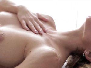Hot Lesbian Massage Scene With Orgasmic Happy Ending