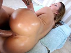 Big Butt Hottie Abby Cross Fucked And Covered In Cum