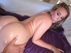 Big Ass Babe Harley Jade Oiled Up And Fucked