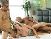 Sydney Cole Likes It Rough With Two Guys