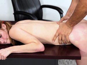 Rough Schoolgirl Sex With The Horny Teacher