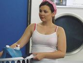 Curvy Cali Hayes Fucked On Laundry Day