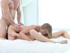 GF Gives Her Man A Hot Threesome For Love