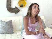 First Anal Porn For Naughty Brunette Sophia Grace